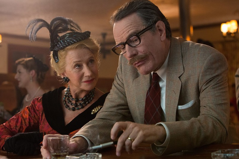 Helen Mirren and Bryan Cranston spar over the Americanism of being blacklisted in TRUMBO.
