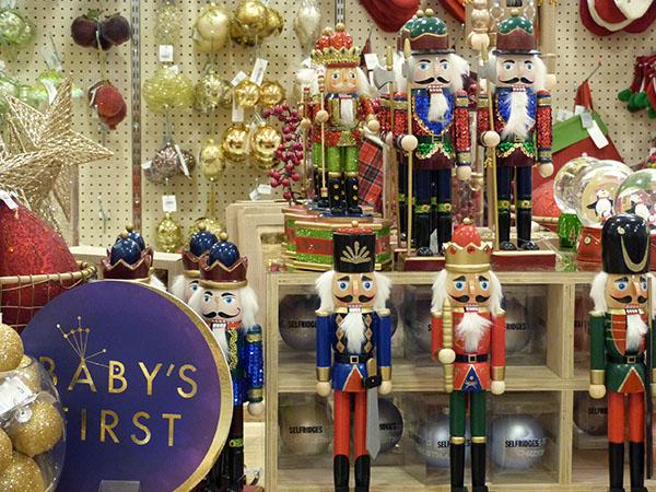 Noël à selfridges