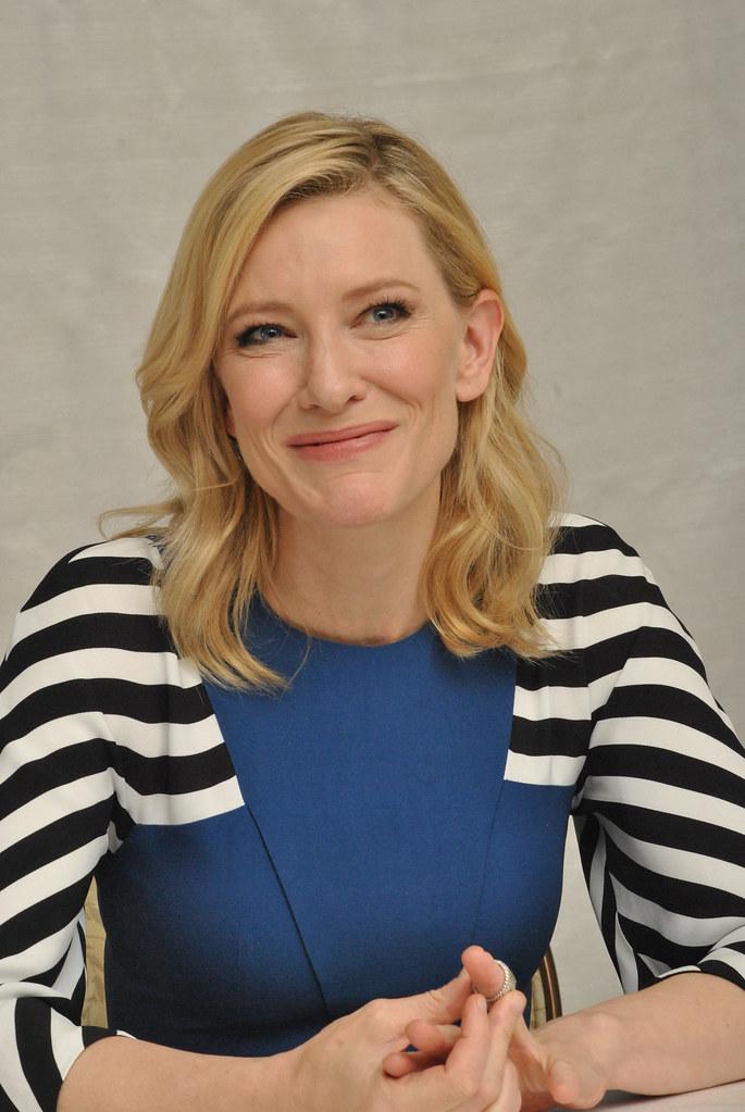 Кейт Бланшетт — Пресс-конференция «Кэрол» 2015 – 11