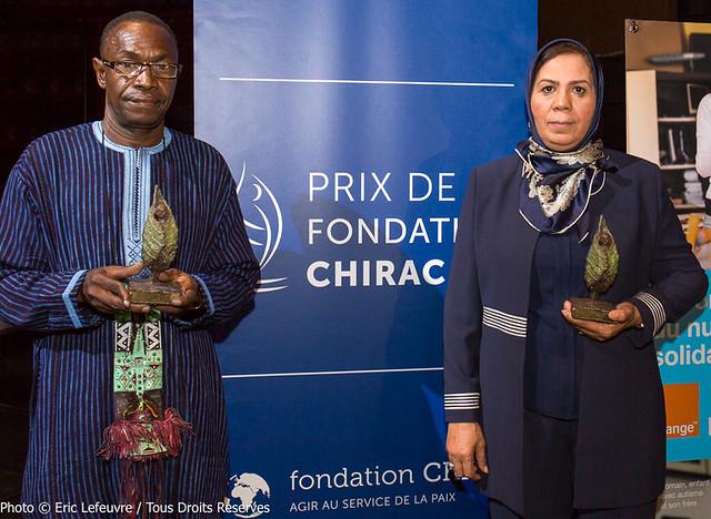 Alain Juppé à la remise des Prix de la fondation Chirac