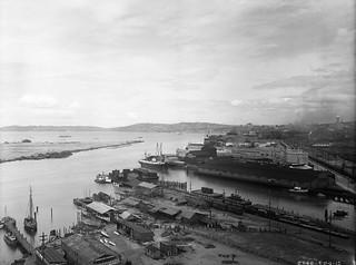 East Waterway Terminal, 1915