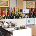 Prime Minister David Cameron attends first executive session of CHOGM