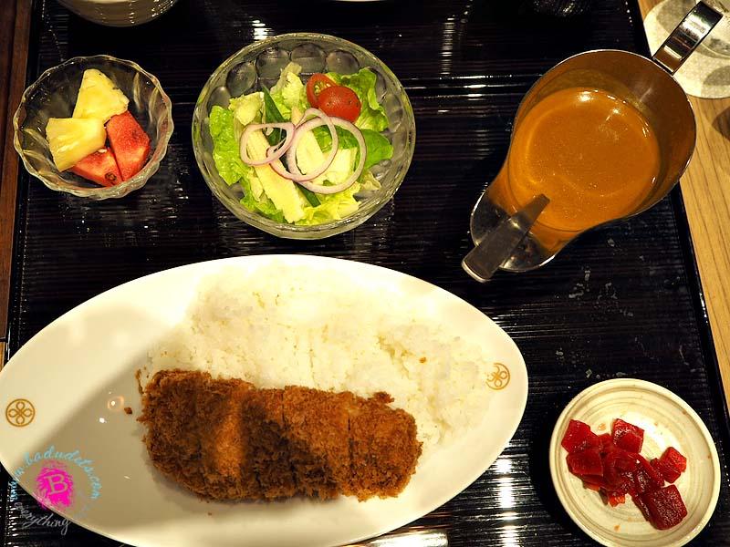tenderloin Katsu Curry Set