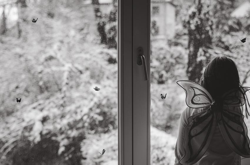 Para Mujer Mariposa