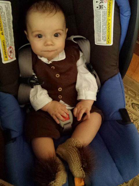 Hobbit baby!