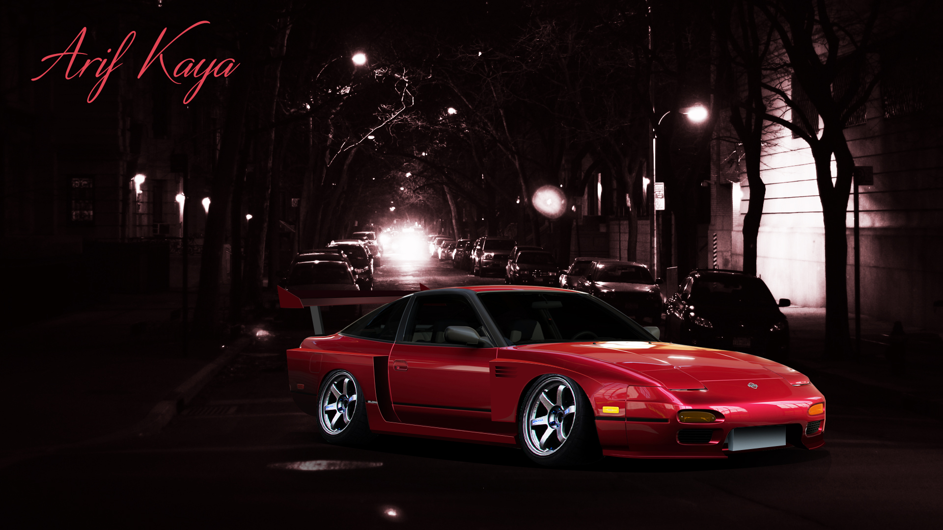 Nissan 240sx Virtual Tuning