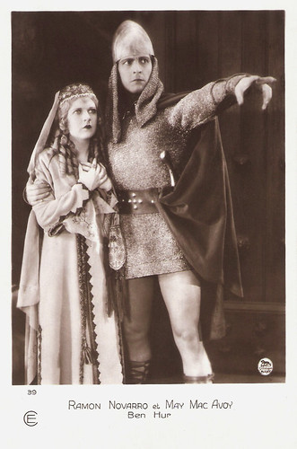 Ramon Novarro and May McAvoy in Ben-Hur: A Tale of the Christ (1925)