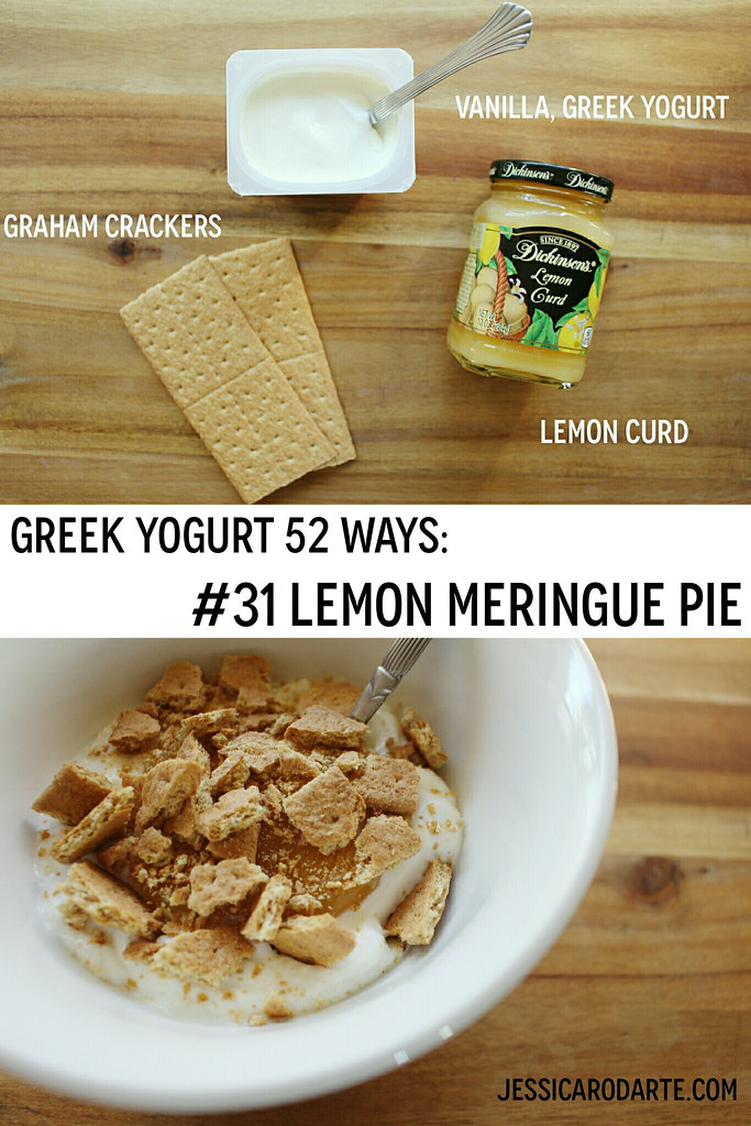 greek yogurt 52 ways: # 31 lemon meringue pie