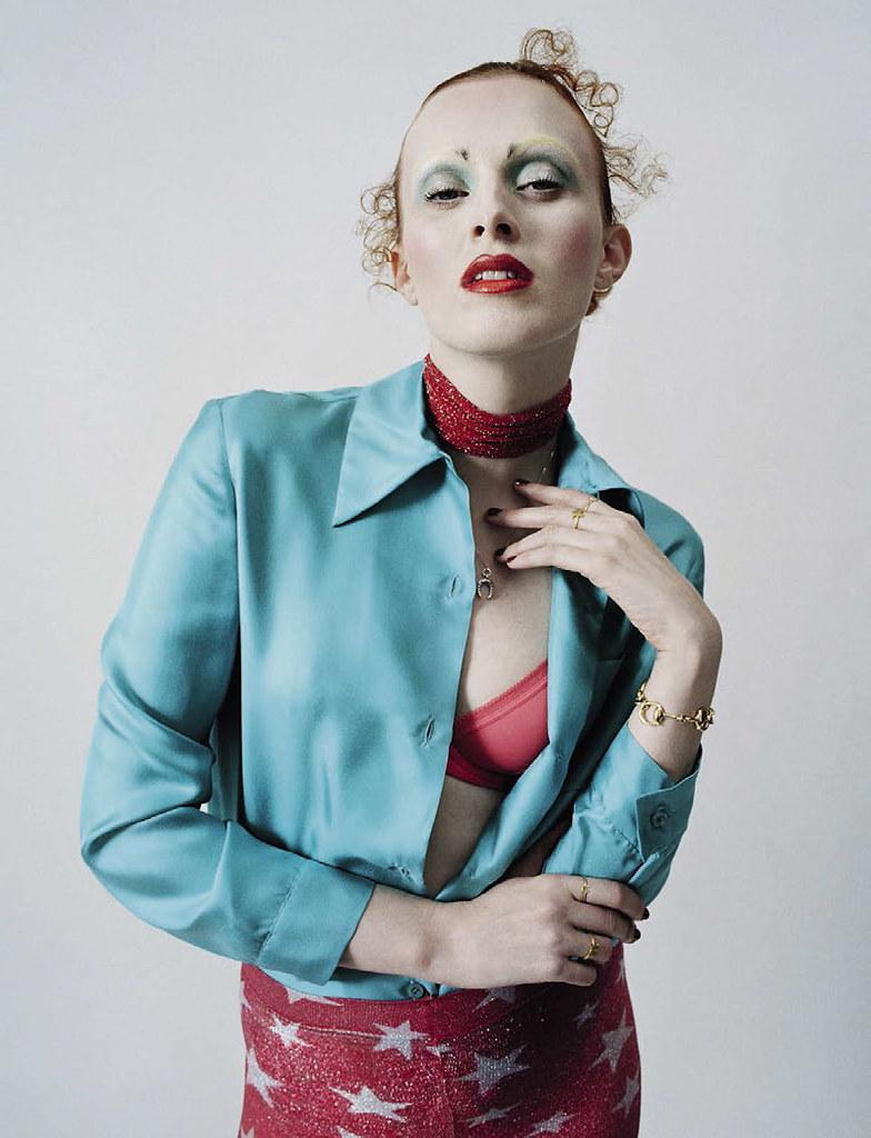 Карен Элсон — Фотосессия для «Vogue» IT 2015 – 8