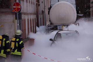 CO2-Austritt Walpodenstr. Mainz 22.12.15