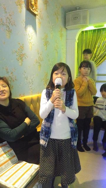 노래방 100점 생일파티