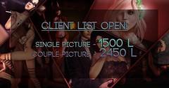 Client List OPEN!