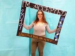 Congratulations to Shyanne Kosler who got accepted to the University of Texas at San Antonio in San Antonio, Texas! #CollegeBound #CollegeBoundBulldogs #Somerset2017