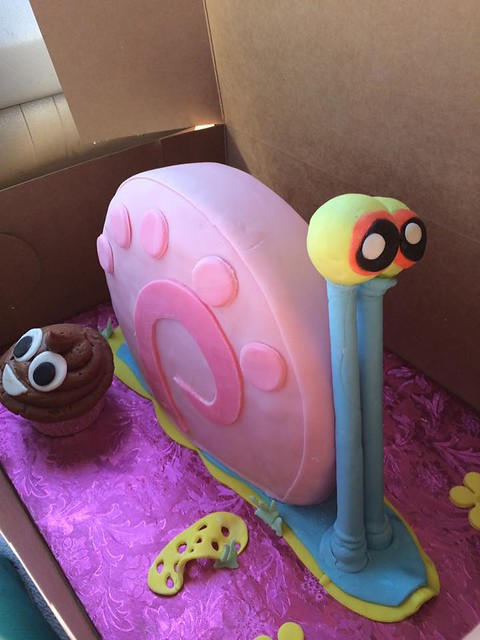 Gary the Snail by Angela Chapman of Sweets & Treats by Angela