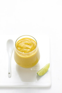 Squash, ginger and lime smoothie