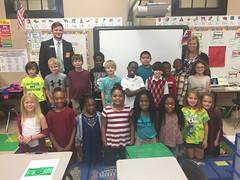 Matt Purvis, BNA Bank - Joyner Elementary - 2nd grade