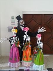 Caretaker and his girls