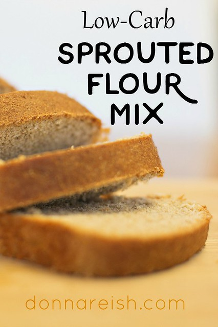 Low Carb Sprouted Flour Mix