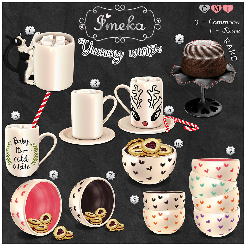 {Imeka} Yummy winter @ The Arcade - SecondLifeHub.com