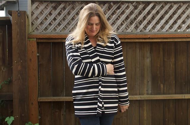 striped Oslo wrapped