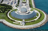 Adler Planetarium in Chicago Aerial Photo by Concert_Photos_Magazine
