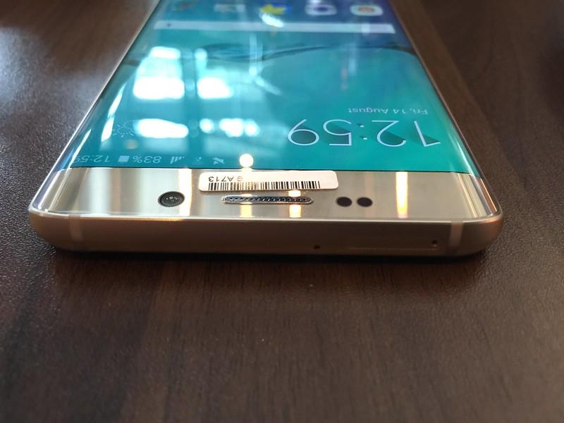 Samsung Galaxy S6 edge+ - Top