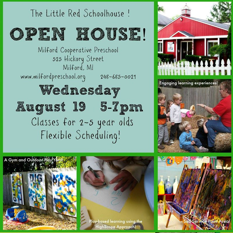 Open House Poster August 19, 2015
