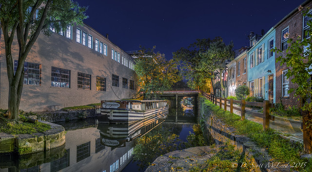 The Georgetown Canal Boat