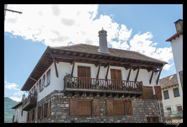 Casa de Hecho con chimenea