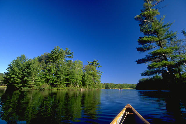 Six Mile Lake - Canoe