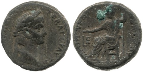 Fetter Lane hoard coin of Nero