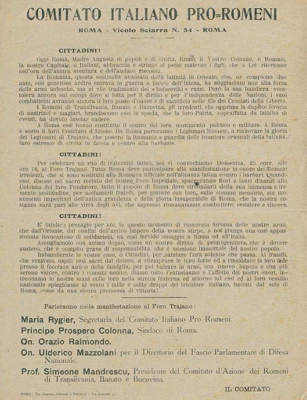 1918_italieni_solidari_cu_romanii_pentru Marea_Unire (2)