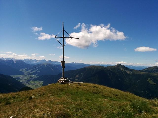 Gipfelkreuz des Napfl