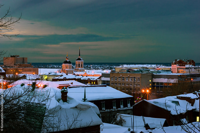 Dawn in Tomsk | Рассвет в Томске