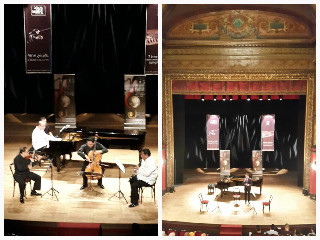 Cuarteto Internacional de México en Constantine, Argelia