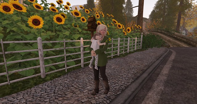 Sunflowers and happiness ♥