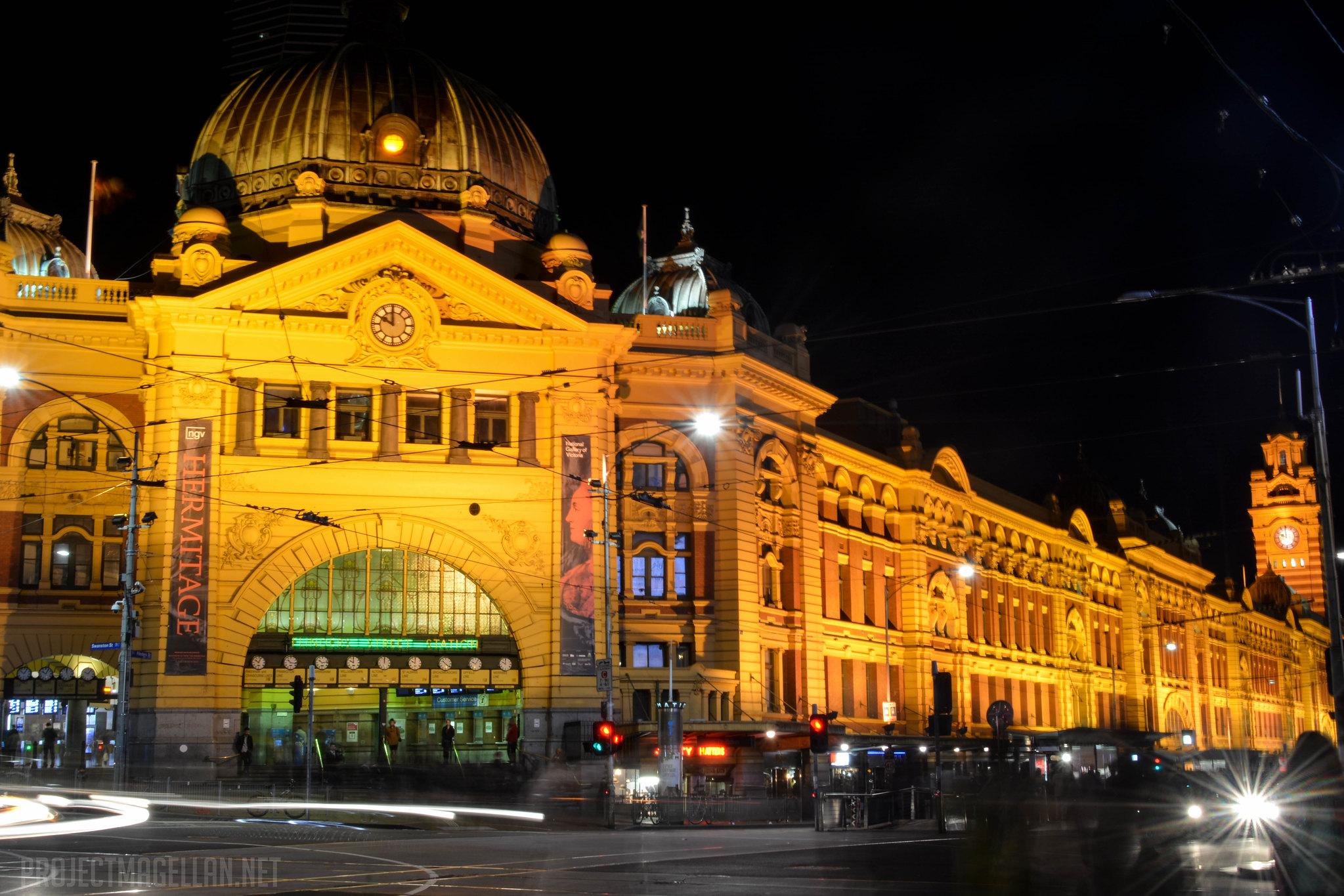 Flinders Street, Melbourne, Victoria, Australia