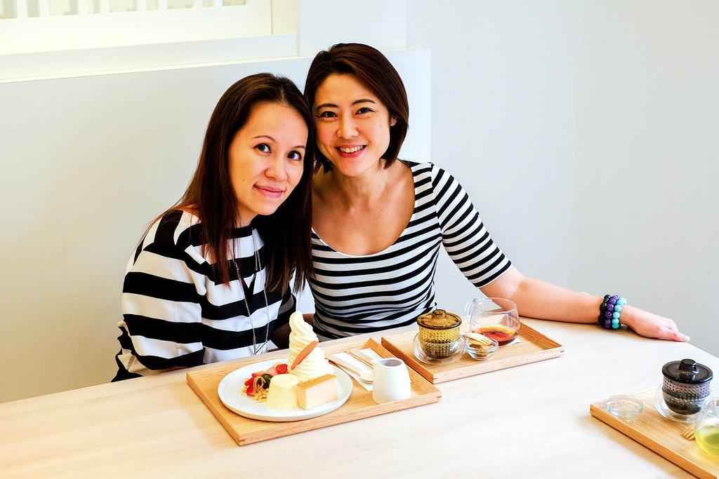 Cynthia Koh & Maureen @ KARAFURU Desserts