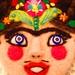 Frida Kahlo Art Brooch by Nufar Livny Laskov