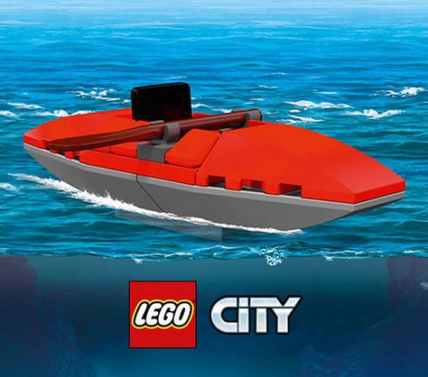 LEGO City Mini Kayak
