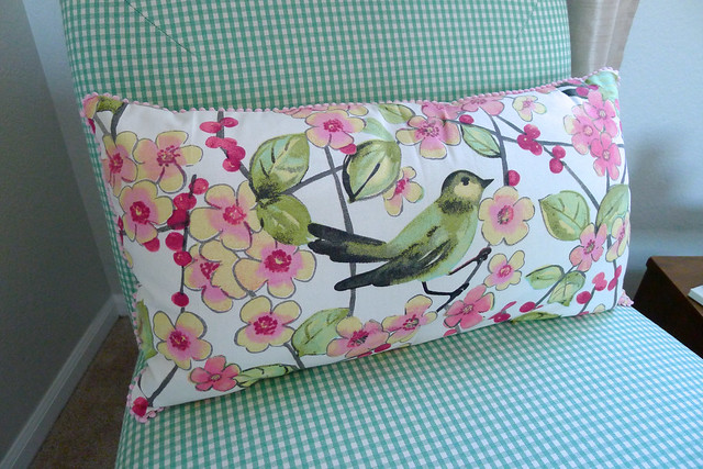 DIY Bird Pillow