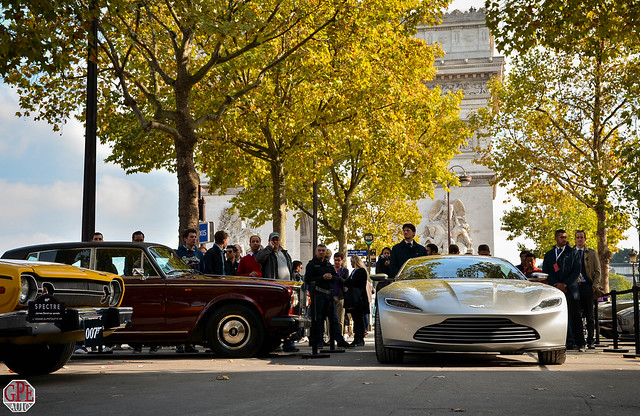 James Bond Car Parade