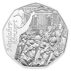 Austria 2016 New Years coin reverse