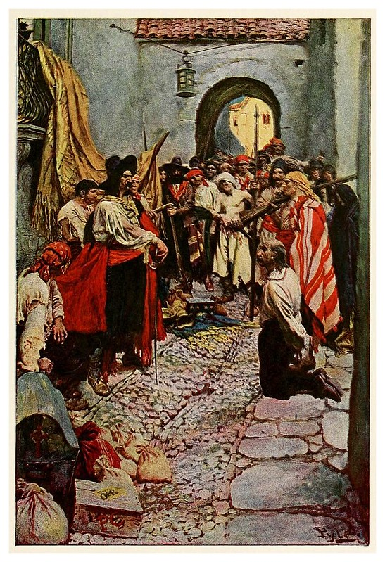 007-Recaudacion de tributos- Howard Pyle's book of pirates..1921