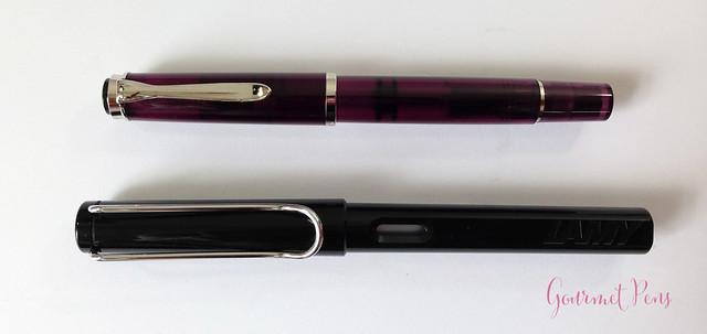 Review Pelikan M205 Classic Amethyst Fountain Pen @AppelboomLaren (3)