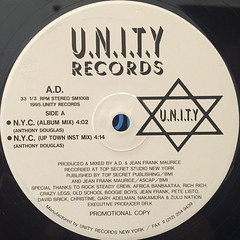 A.D.:N.Y.C.(LABEL SIDE-A)
