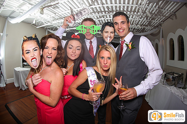 photo booth rental St. Augustine, FL wedding