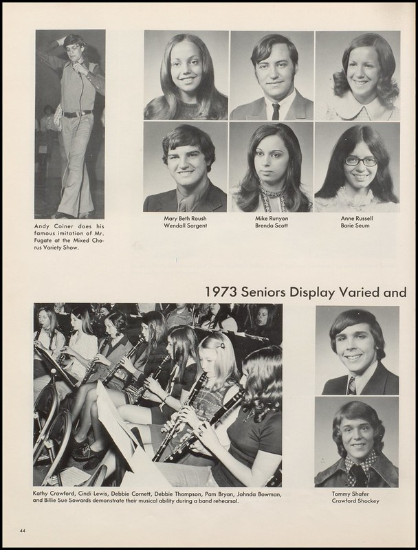greenup county public libraries 1973 russell high school yearbook