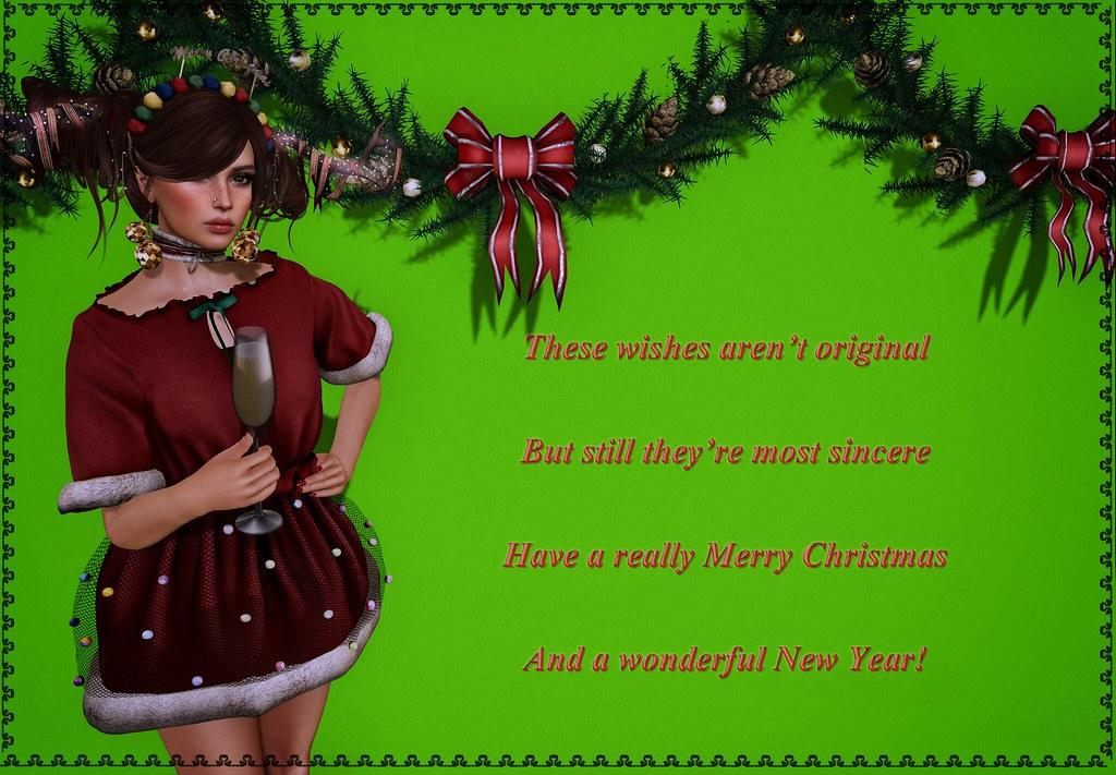 Merry Christmas my dears!