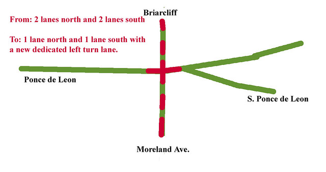 2015-11-29 Ponce at Briarcliff and Moreland traffic calming diagram